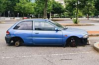 More than 18,000 reports of abandoned Brisbane vehicles in three years