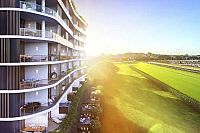 First tower opens in $1.2b racecourse precinct transformation