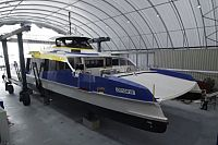 Brisbane's first double-decker CityCat hits the water