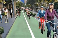 Pop-up bike lanes proposed for Brisbane CBD
